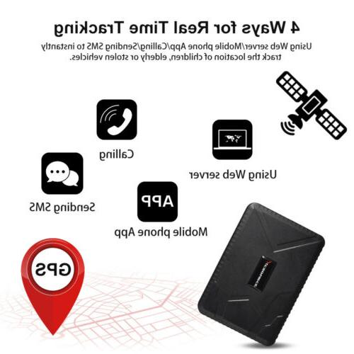 GPS Tracker Car Magnet 120 days Standby XC407