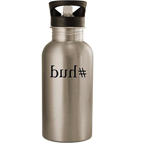 #hud - Stainless Steel 20oz Road Ready Water Bottle, Silver