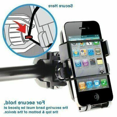 Universal Cell Holder For Bike Bicycle Handlebar Mount