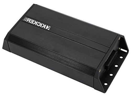"JVC KDR99MBS Stereo Receiver Bundle + Kicker 6.5"" Speaker + Motorcycle Speaker 200 Watt Amplifier Amp Dash Kit + 98-13 Handle Bar Conroller + Enrock"