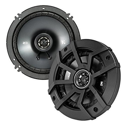 "JVC CD Receiver Kicker 6.5"" Speaker Motorcycle Speaker 200 Watt + Amp Kit + Dash Trim 98-13 Conroller"