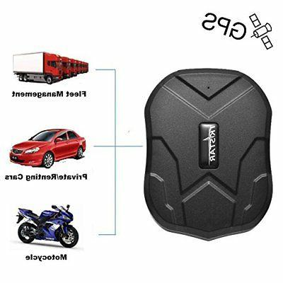 TKSTAR Hidden Vehicles GPS Tracker, Waterproof Real Time Car