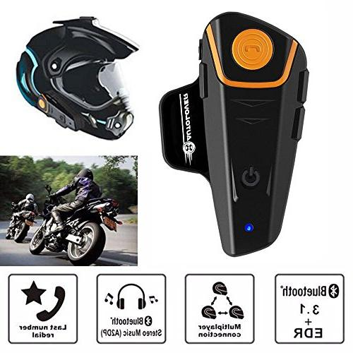 AUTOLOVER Headset, Intercom Interphone and MP3 & radio