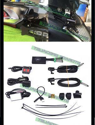 Motorbike 64GB Vimel Bike Car Hardwired Truck