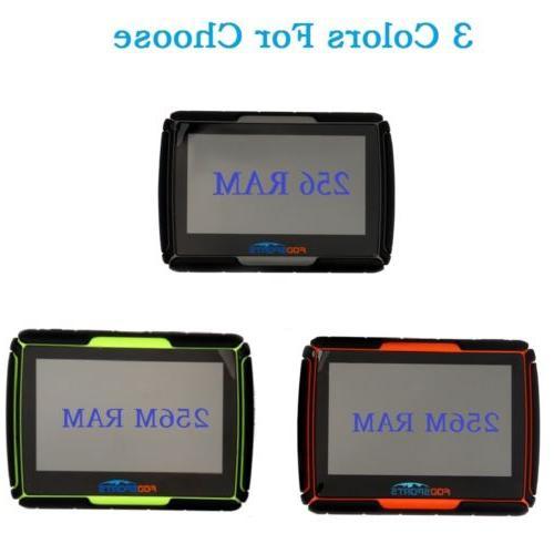 Motorcycle Screen Car GPS Waterproof Bluetooth