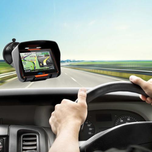 Screen Car Navigation Waterproof Bluetooth