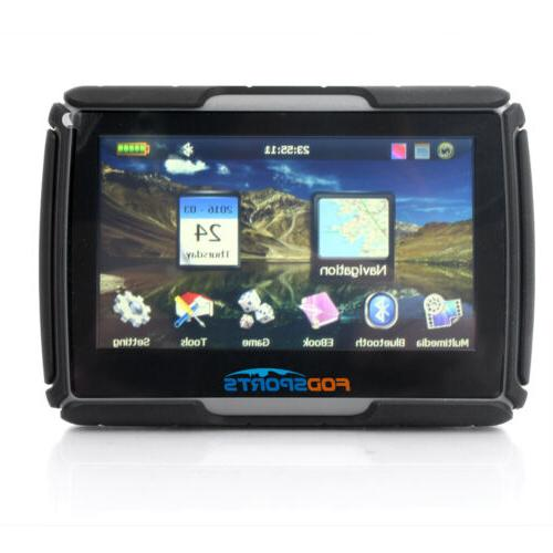 "4.3"" inch Car Motorcycle Touch Screen Waterproof"