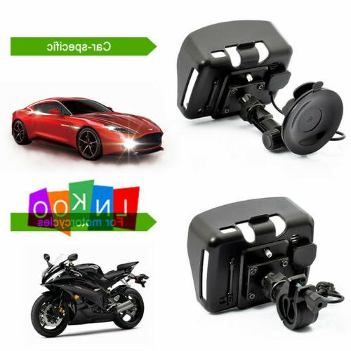Motorcycle Touch Bluetooth GPS Sat Nav Green