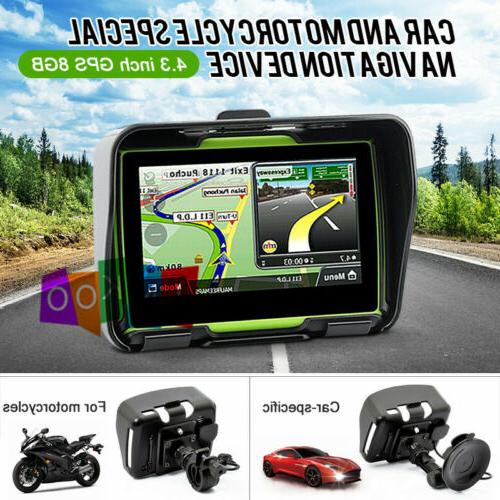 Bluetooth Sat Nav 8GB Map Green