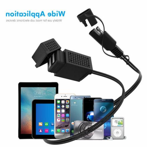 40'' Motorcycle Charger 2.1A for Adapter MP3