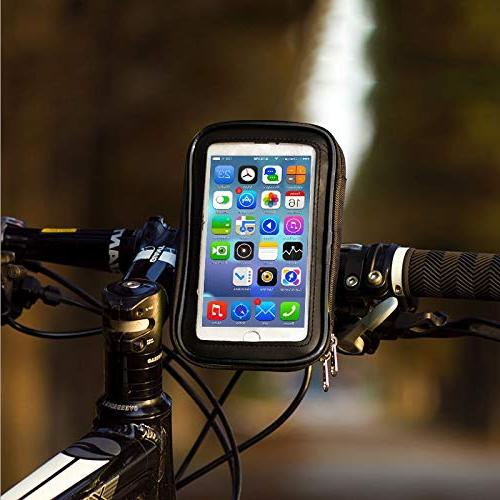 Best Quality Hah Bicycle Cell Holder Stand iPhone 7 5 6S Plus Bike Waterproof Bag