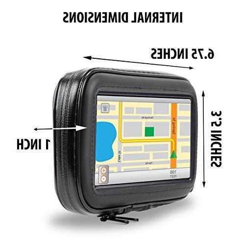 Motorcycle GPS Handlebar for Garmin 42LM / 40LM / 660LM, eXplorist, RIDER &