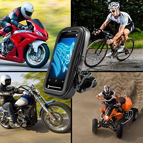 Motorcycle Mount w/ for nüvi 42LM / 40LM Zumo 660LM, eXplorist, RIDER & Phones