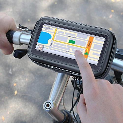 Motorcycle GPS Mount Handlebar w/ for Garmin / / Zumo 660LM, eXplorist, RIDER Phones
