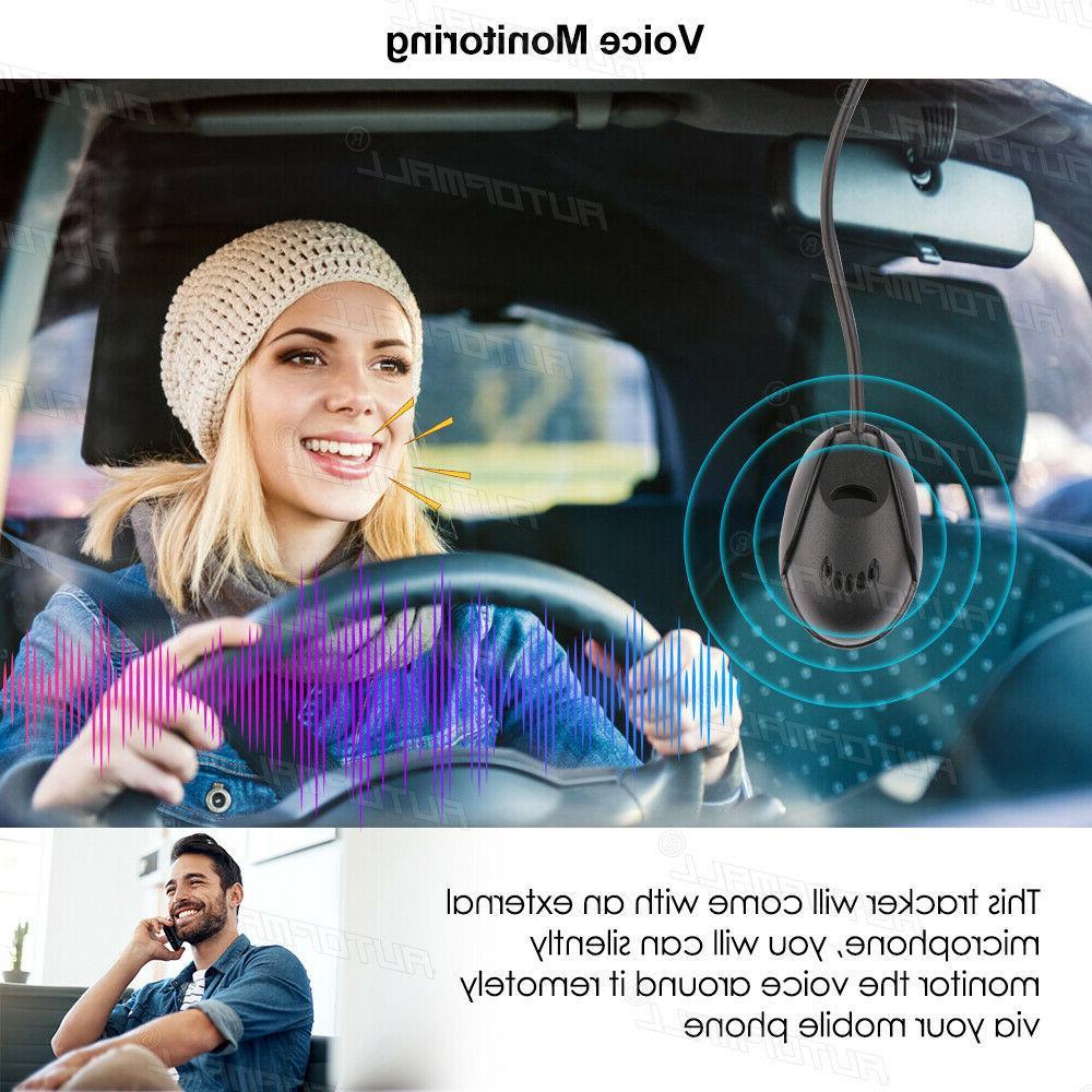 Motorcycle Tracker 4G LTE Vehicle Oil Locator Free App