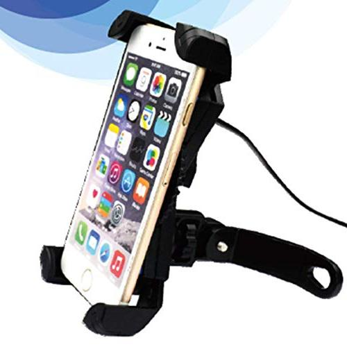USB Motorcycle Cell Most Mobile Smartphones Clamp,on