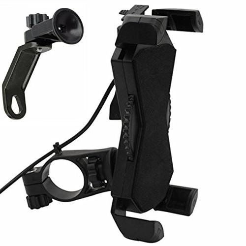 Motorcycle Mount USB Charger Motorcycle Cell Phone Mount Most Mobile Clamp,on