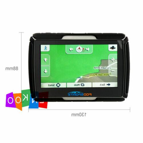 Motorcycle Touch Screen Bluetooth Car Navigation Sat Nav Waterproof