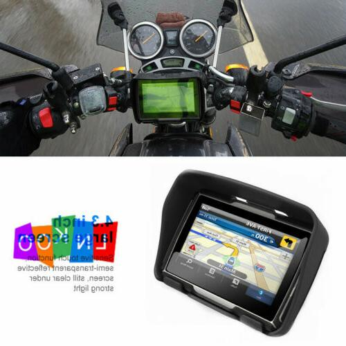 motorcycle touch screen bluetooth car gps navigation