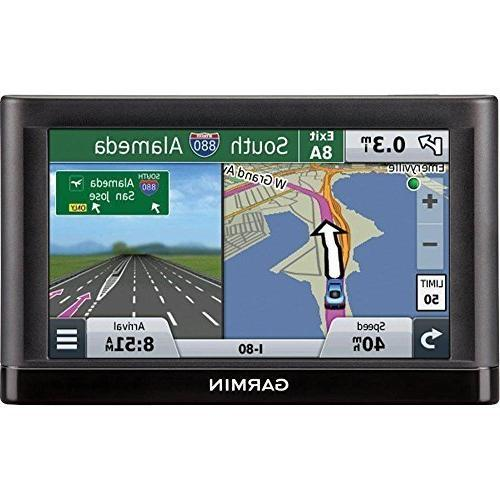 Garmin Portable GPS Refurbished - 5 Lane Voice Prompt - - 2 Hour Preloaded Maps - Map Updates -