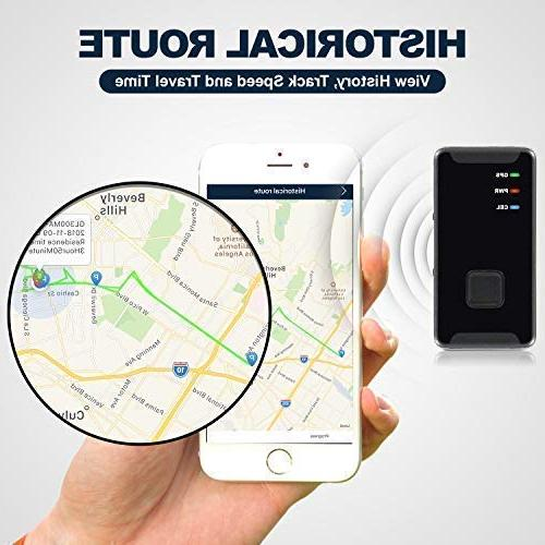 Personal Tracker - Mini, Portable, Real Time LTE Button Device Kids, Vehicle, Spy Tracking,