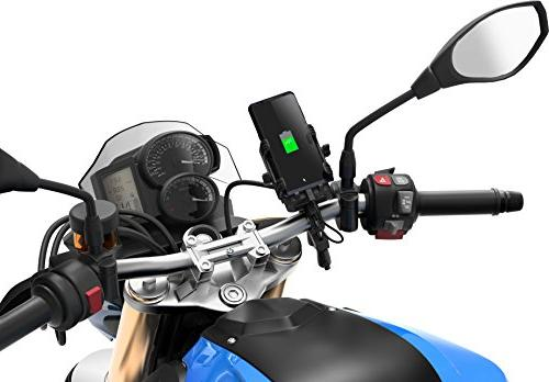 Sena POWERPRO-01 Black Size 20.7 PowerPro Mount with Phone Charger