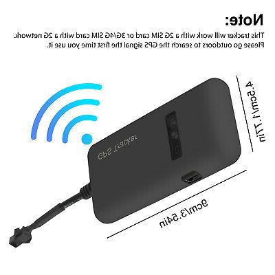 Real-time Locator Device GSM Car/Motorcycle Anti