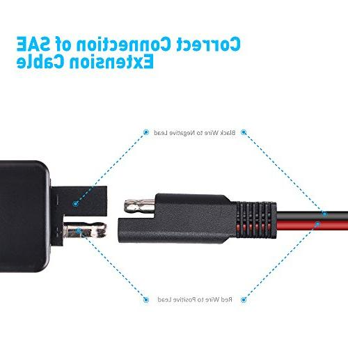 Cable Voltmeter Socket for Motorcycle for Smart Phone
