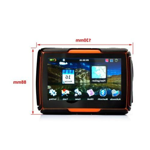 Koolertron 4.3 Inch All Terrain Waterproof Navigation System With Version