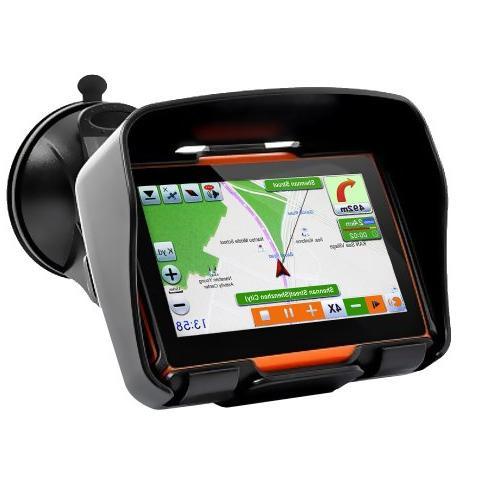 terrain waterproof motorcycle gps navigation