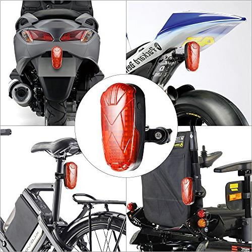 XCSOURCE Taillight Real Tracker for Bike Wheelchair LD751