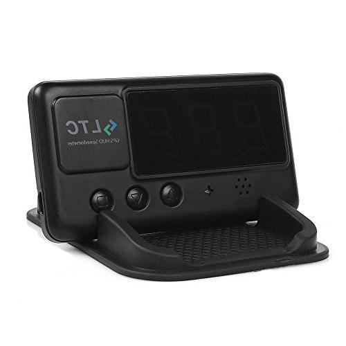 LeaningTech Universal Car GPS Overspeed Alarm