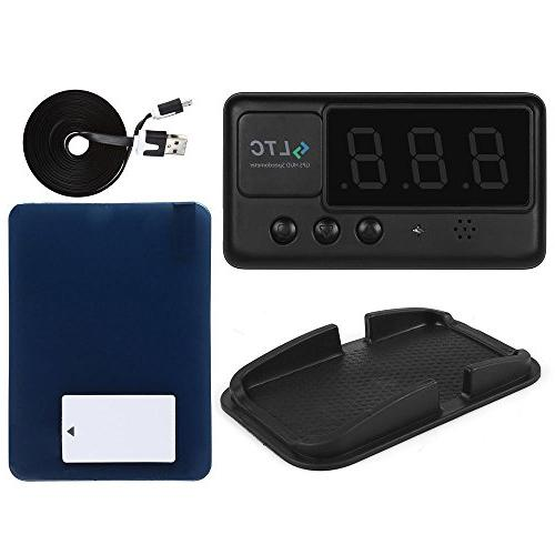 LeaningTech Car Overspeed Alarm Windshield for All