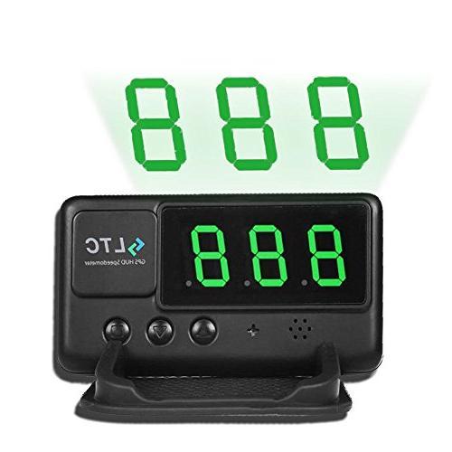 universal car hud gps speedometer