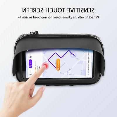 Waterproof Motorcycle Bicycle Phone/GPS Holder Mount