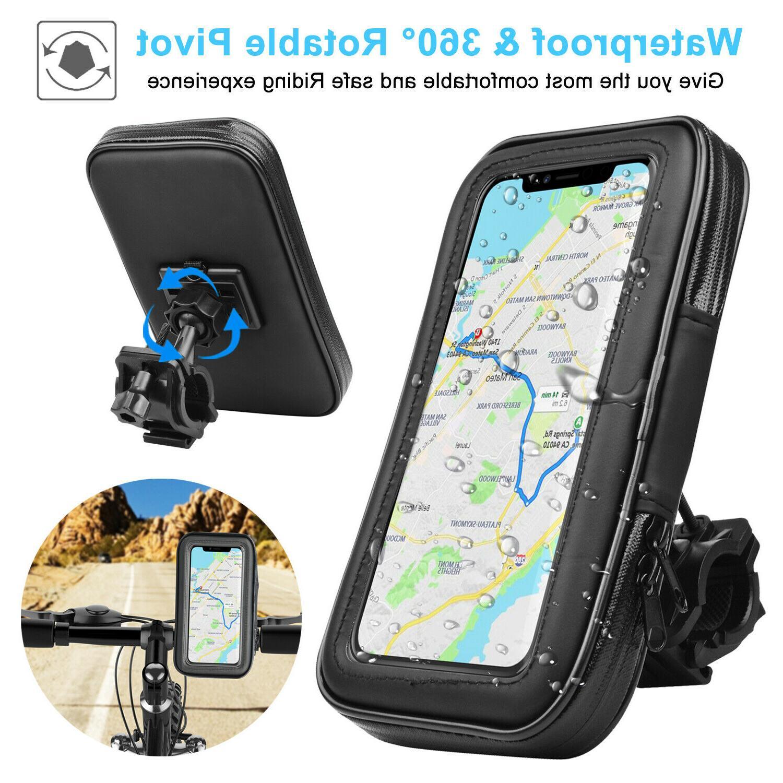 universal motorcycle bicycle bike handlebar cell phone