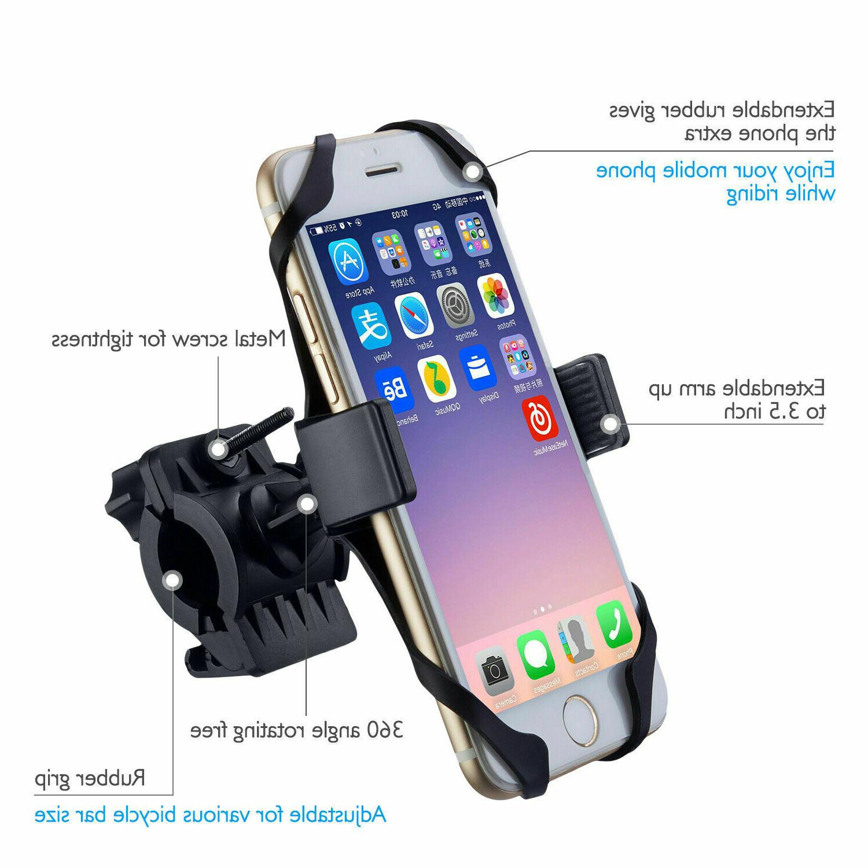 Universal Bicycle Bike Handlebar Holder For Cell