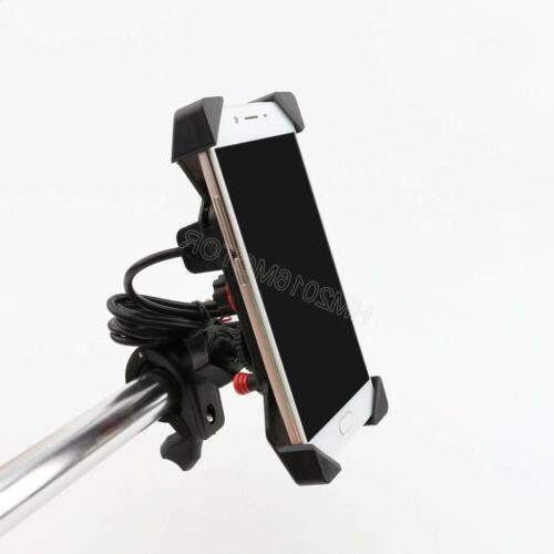 US Bike Cell Phone Mirror Charger