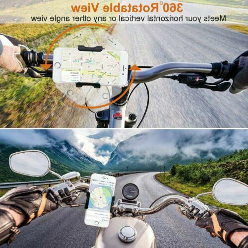 USA Aluminum Motorcycle Bike Bicycle GPS Phone Mount