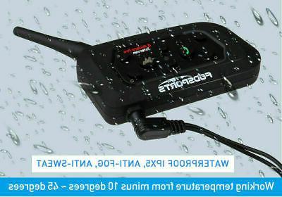 1200m Bluetooth Intercom Headset V6 Walkie Talkie