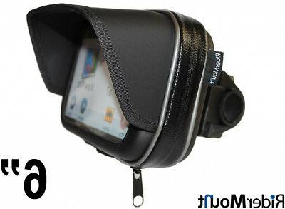 waterproof sunshade 6 gps satnav case