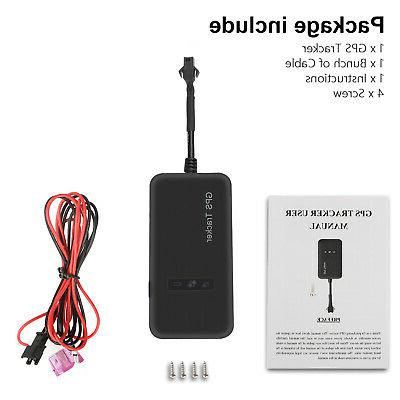 Real-time Tracker Tracking Locator GSM Car/Motorcycle Anti Theft