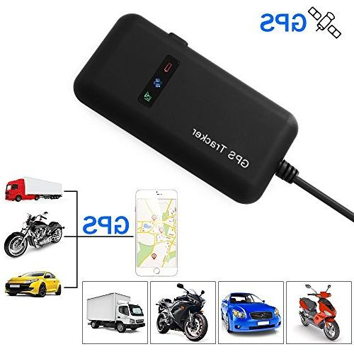 xcsource vehicle tracker real time locator gps gsm gprs sms
