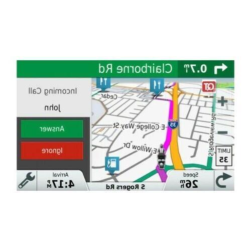 Garmin 595LM Motorcycle GPS Bluetooth Smart Notifications 010-01603-00