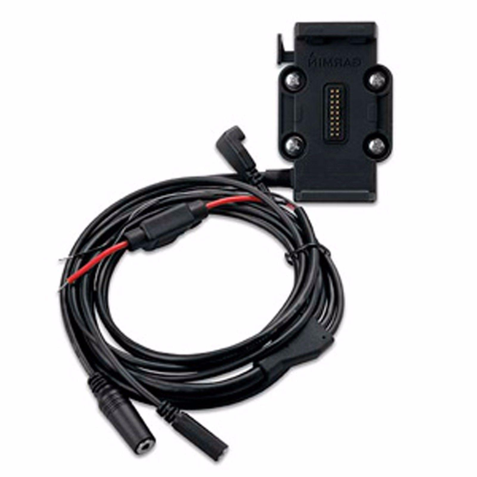 Motorcycle Handlebar Mount Integrated Power Cable w/XM & Mic