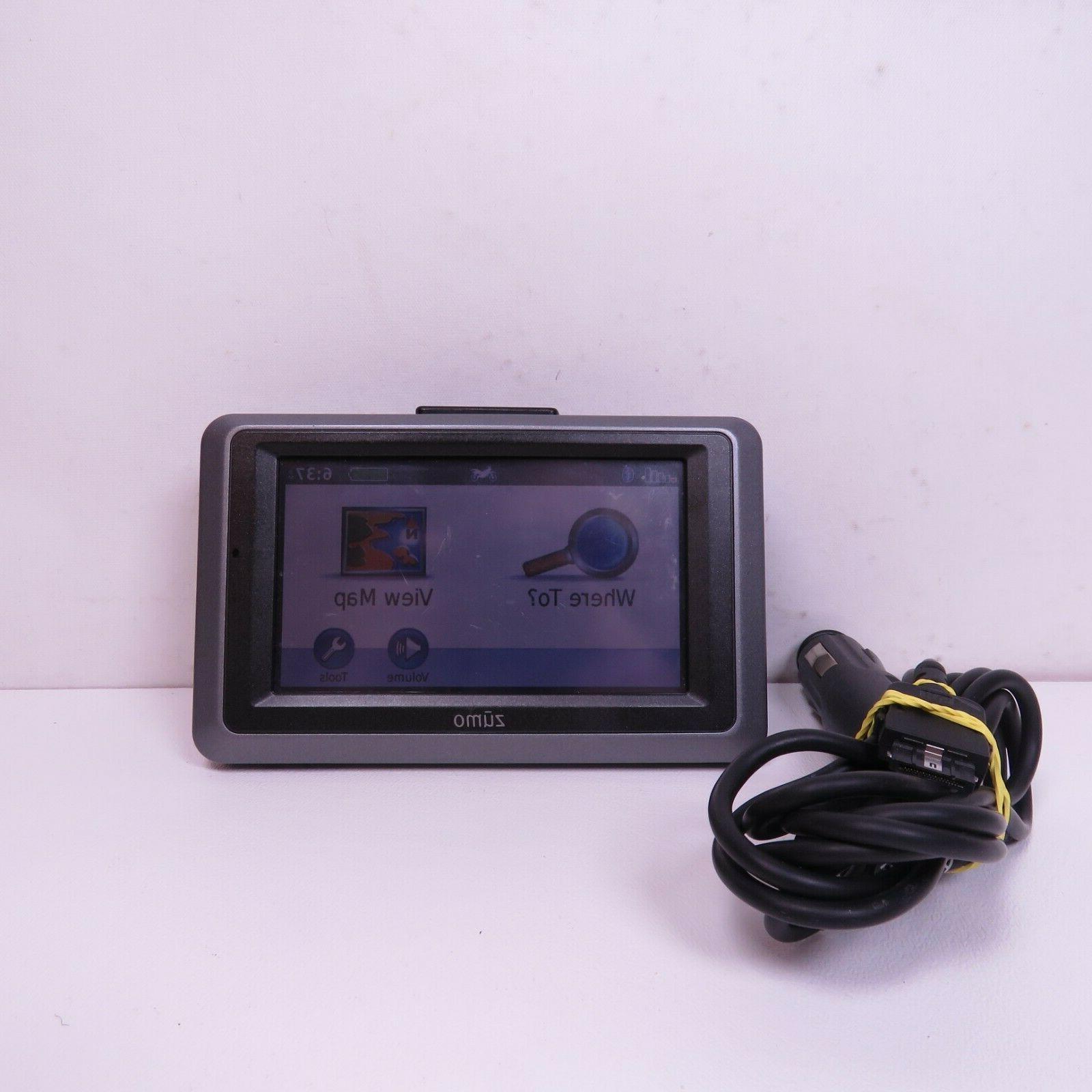 zumo 665 gps unit power tested