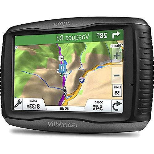 Garmin Zumo 595LM GPS Navigator GPS, XL Case, Adapter and