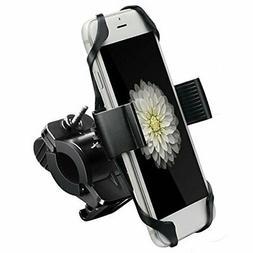 Ipow Metal Bike & Motorcycle Cell Phone Mount, With Unbreaka