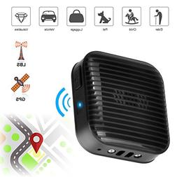 Mini GPS Tracker Locator, Real-time Tracking SOS Alarm Dual-