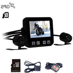 Mini Size Dual Lens HD 720P C6 Wired Remote Control Motorcyc